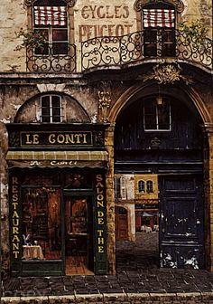Le Conti restaurant  ~ Paris