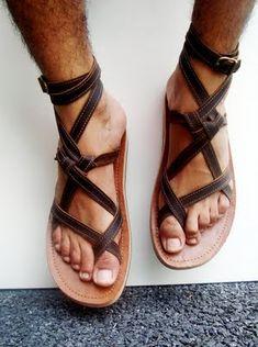 2be58d3ba383 how to make men gladiator sandals diy - Buscar con Google