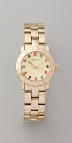 Marc Jacobs- Classic watch with a twist
