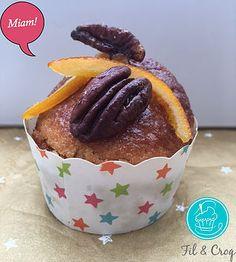 Fil &Croq - recette - muffins au coeur fondant érable  - #recette #muffin #erable #pecan