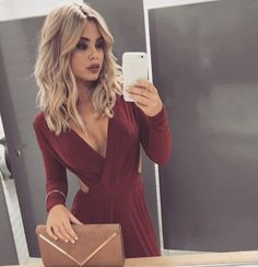 Wrap Dress, Hair Beauty, Instagram Posts, Dresses, Style, Fashion, Womens Fashion, Hair, Vestidos
