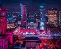 This week I'm ending in Warsaw night panorama. Next week I hope to make some cool shots in LA! Fun Shots, Next Week, Warsaw, Times Square, Night, City, Travel, Instagram, Viajes