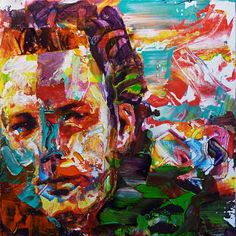 Portrait of Mickey Rourke by Rémi Jouandet Available for Sale on Saatchiart