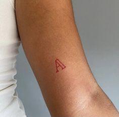 Tiny Tattoos For Girls, Cute Tiny Tattoos, Dainty Tattoos, Little Tattoos, Pretty Tattoos, Small Tattoos, Tattoos For Women, Red Ink Tattoos, Mini Tattoos
