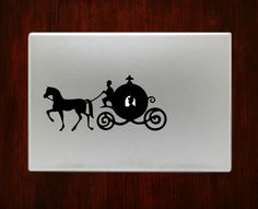 Cinderella Carriage Decal Stickers For Sale Macbook Pro Air 11 / 13 / 15 / 17 inch Macbook Laptop. Available in all macbook sizes. Easy application in High resolution, full detail precis Laptop Case Macbook, Laptop Decal, Macbook Pro, Laptop Cases, Computer Case, Mac Stickers, Apple Stickers, Cute Stickers, Macbook Decal Stickers