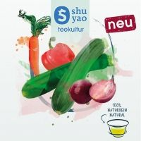 SHUYAO Gemüse vegetables delight me Tee Set Wellomed® Shop