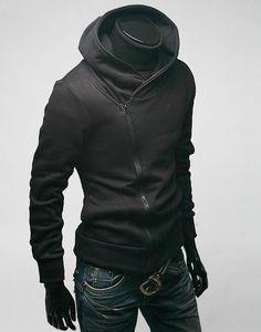 Hoodies Men 2017 Brand Male Long Sleeve Hoodie Side Zipper Solid Color Sweatshirt Mens Moletom Masculino Hoodies Slim Tracksuit