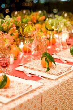 Beautiful table setting for the Fall Season.