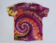 Größe 6/8 Tie Dye T Shirt von ChromaticKiddos auf Etsy