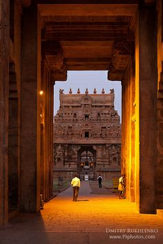 Portal - Brihadishwara Temple, Tanjore <3