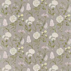 Buy Sanderson DAPGSS201 Summer Tree Silk Fabric | A Painters Garden | Fashion Interiors