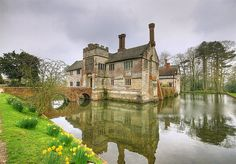 The moated manor house of Baddesley Clinton in Warwickshire.