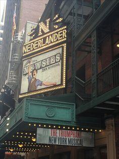 I may or may not have set my mom's GPS to the Nederlander Theatre address...
