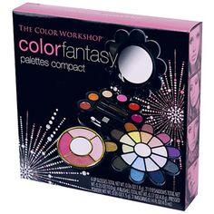 The Color Workshop Color Fantasy Palettes Compact Makeup Kit, 34 pc