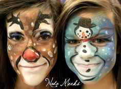 For Christmas for Kids Face Painting