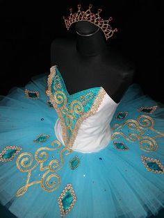 ballet costume looks like something Odette would wear