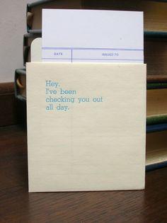 library card idea