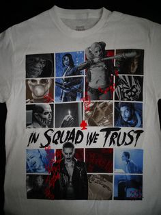 Suicide Squad In Squad We Trust Harley Joker Deadshot Dc Comics T-Shirt #SuicideSquad #GraphicTee