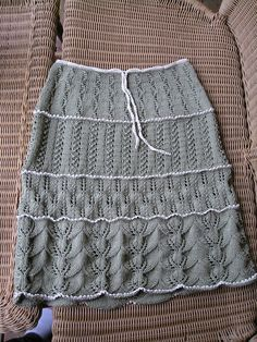 If I ever learned how to knit ...