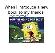 Comment what book you would suggest to your friends like this.