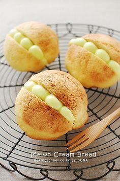 Melon Cream Bread