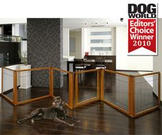 Convertible Elite Pet Gate 6-Panel - The Convertible Elite Pet Gate is three products in one - a free-standing pet gate, a room divider, and a pet pen. You won't find a better value anywhere else. Don't waste your money on three different gates: get the gate that fits all three roles for our lowest prices yet. Free shipping, 30% off, delivered straight to your door. There's no better time than now!
