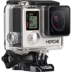 GoPro - HERO4 Black 4K Action Camera - Angle Zoom... not sure which go pro I like better