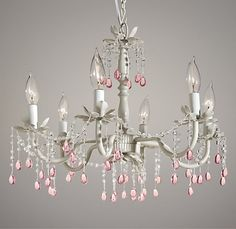 Hoping to add this gorgeous chandelier to my daughters nursery.