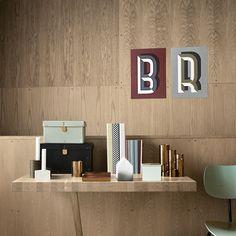 Copper Pencil Holder, Ring Binder, Boxes, House of Money, Bau Deco Notebook / ferm living / copper / pastel / scandinavian / office design