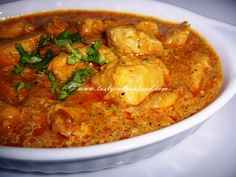 coconut chicken curry, south indian chicken recipes