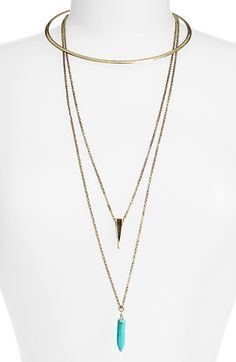 Cool. What more can I say? BP. 3-in-1 Choker Necklace available at #Nordstrom