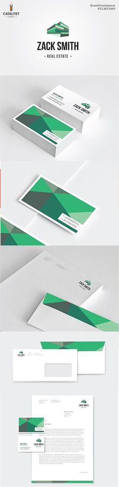 Brand Development - Zack Smith Real Estate #branding #logo #design #business: