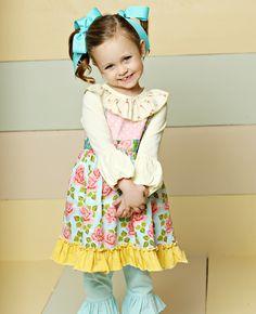 Matilda Jane Clothing ~ Good Hart ~   TRELLIS DRESS #matildajaneclothing #MJCdreamcloset