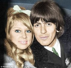 Love note that shows George Harrison forgave Patti Boyd after she left him for Eric Clapton Eric Clapton, George Harrison Pattie Boyd, Wonderful Tonight, Something In The Way, Les Beatles, Star Wars, The Fab Four, Wife And Girlfriend, Celebrity Couples