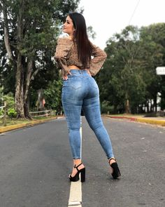 Superenge Jeans, Sexy Jeans, Skinny Jeans, Curvy Girl Outfits, Sexy Outfits, Look Body, Pernas Sexy, Arab Girls Hijab, Winter Looks