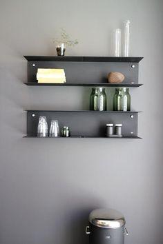 I beam shelves