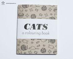 cats a coloring book