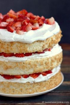 Stop Buying Your Angel Food Cake At The Grocery Store