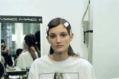 From Marni's backstage at the Milan Fashion Week SS16. An Obvious Agency collaboration with MAC Cosmetics. All pictures were shot on 35mm film by Renato Galvão.