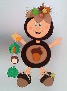 The post Fensterbild – Kastanie – Herbst- Dekoration – Tonkarton! appeared first on Dekoration. Creative Curriculum Preschool, Kindergarten Crafts, Preschool Crafts, Easy Fall Crafts, Diy Crafts For Kids, Arts And Crafts, Halloween Crafts, Holiday Crafts, Halloween Ideas