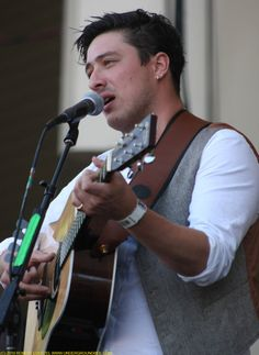 marcus mumford <3--love him and the rest of the band so much more now that I've seen them live