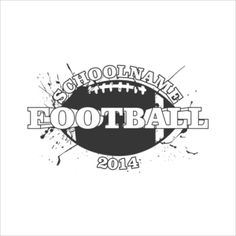 Football T Shirt Design Idea Past Sample Artwork Pinterest