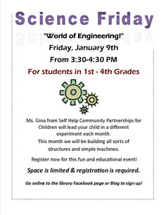 Science Friday at Franklin Public Library