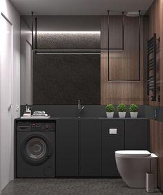 """Interior design inspiration (@i.n.t.e.r.i.o.r.e.s) no Instagram: """"#interiores #bathroom #banheiro #interiordesign #lavabo #painelripado #interiorphotographer…"""""""
