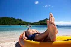 Disfrutando del #verano en la #playa!! #RivieraMaya