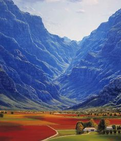 Hex River Valley, Western Cape. South Africa about a 2 hour drive from La Clé des Montagnes