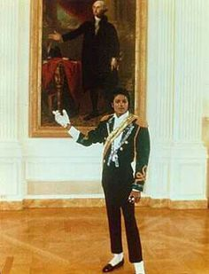 Michael Jackson at the White House                                                                                                                                                                                 More