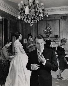 "Hardy Amies advertising his perfume ""Fun"" for men, 1962 Retro Ads, Vintage Advertisements, 1960s Fashion, Mens Fashion, Year Of The Tiger, Hardy Amies, Savile Row, Modern Man, Wedding Attire"