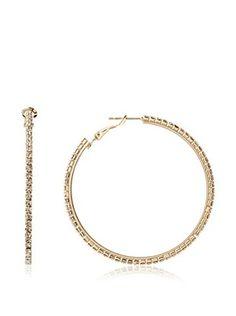 Chloe + Theodora Lever Back Hoop Earrings