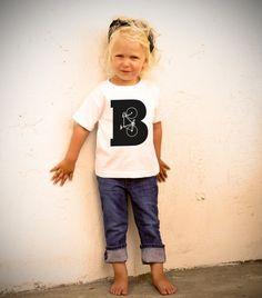 B Is For Bike Toddler TShirt